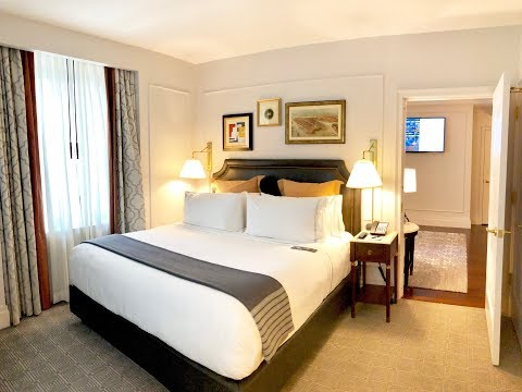 InterContinental New York Barclay, One King Bed Deluxe Suite (2017 Renovated)
