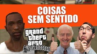 COISAS RETARDADAS E SEM SENTIDO NO GTA SAN ANDREAS
