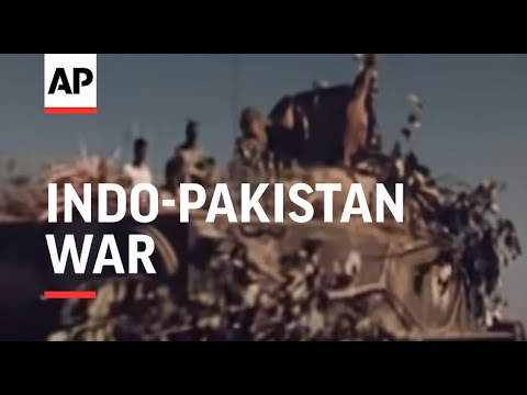 SYND 17-3-72 NEWLY RELEASED FOOTAGE FROM THE INDO-PAKISTAN WAR