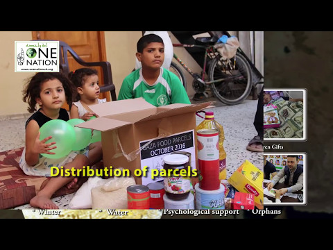 How Your Donations Have Supported The People Of Gaza in 2016 and 2017