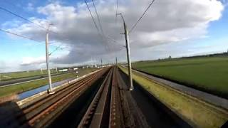 4K Cab Ride NL Rotterdam CS - Amsterdam CS // HSL // IC Direct 1023 // 03-01-2019