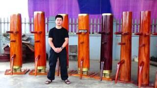 Mộc nhân đế lò xo LH: 1900.0114 http://nunchaku.pro/