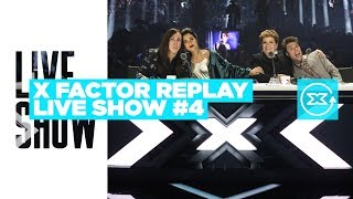 X Factor Replay Live Show 4