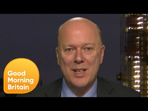 Transport Secretary Chris Grayling Gets Challenged on Hike in Rail Prices   Good Morning Britain