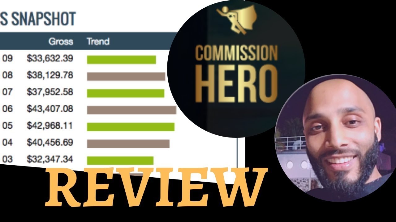 Cheap Affiliate Marketing Commission Hero  For Sale Under 200