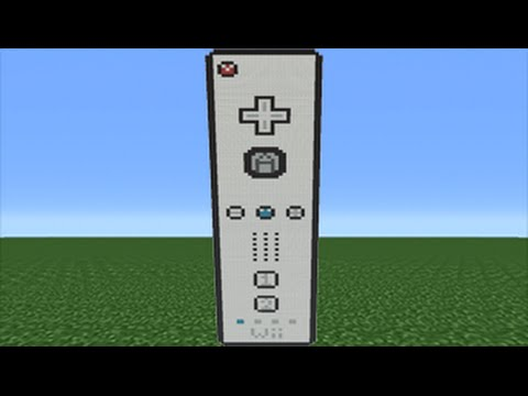 Minecraft Tutorial: How To Make A Wii Remote