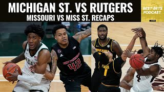 Is michigan state good? missouri disappoints vs miss st, and alabama legit   best bets