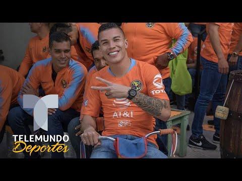 El revuelo que causó la foto oficial de América en Sudamérica | Liga MX | Telemundo Deportes