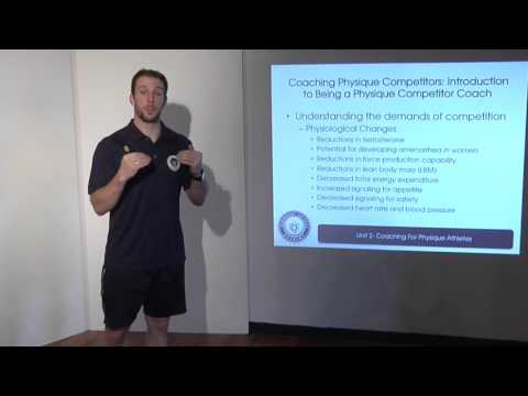 Eric Helms - Physiological demands of contest prep