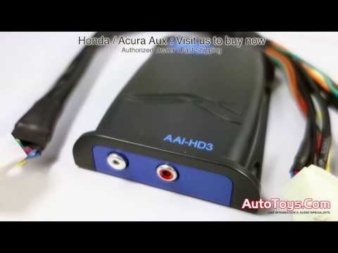 Honda Acura Auxiliary Ipod Adapter AAIHD3 HON03AUX by PIE PAC (HON-AUX)