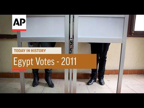 Egypt Votes - 2011 | Today In History | 28 Nov 17