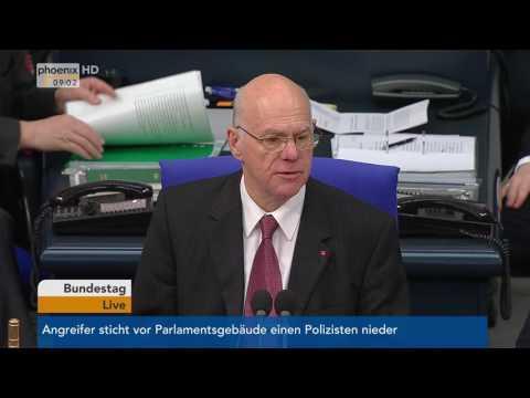 Anschlag in London: Gedenken von Norbert Lammert am 23.03.2017