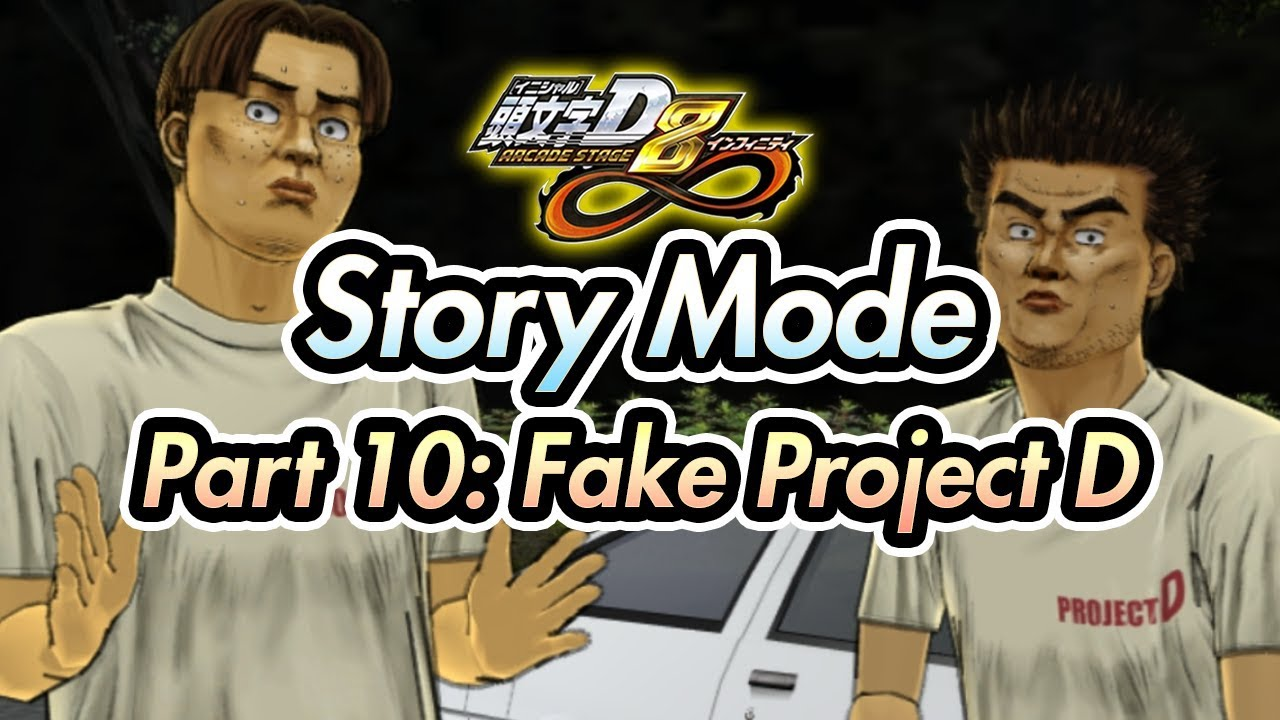 54f7bf11ac0c Initial D Arcade Stage 8 Infinity   Story Mode - Part 10  Fake Project D