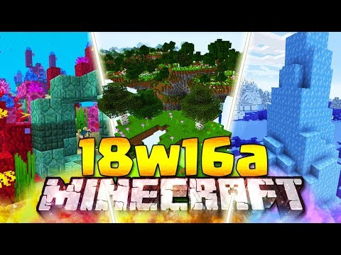 I NUOVI MONDI BUFFET - Minecraft ITA - 18w16a: Spoiler 1.14 & Conduit Power