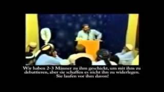 Anti-Ahmadiyya Gelehrte muss Niederlage eingestehen