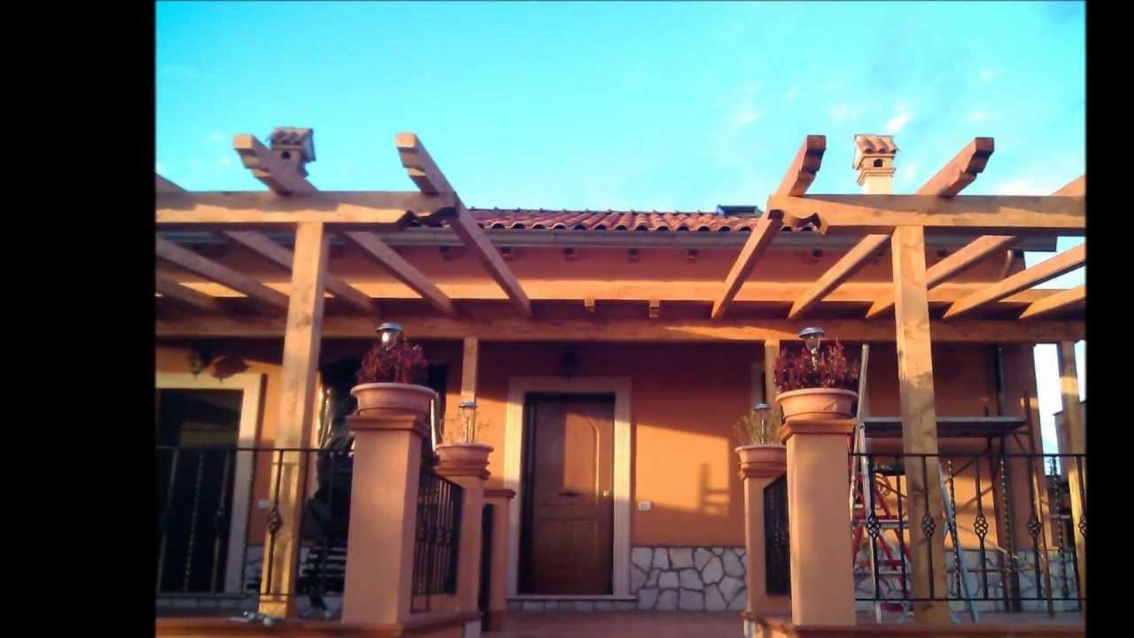 Coperture e strutture in legno roma tetti e casette in for Tettoie economiche