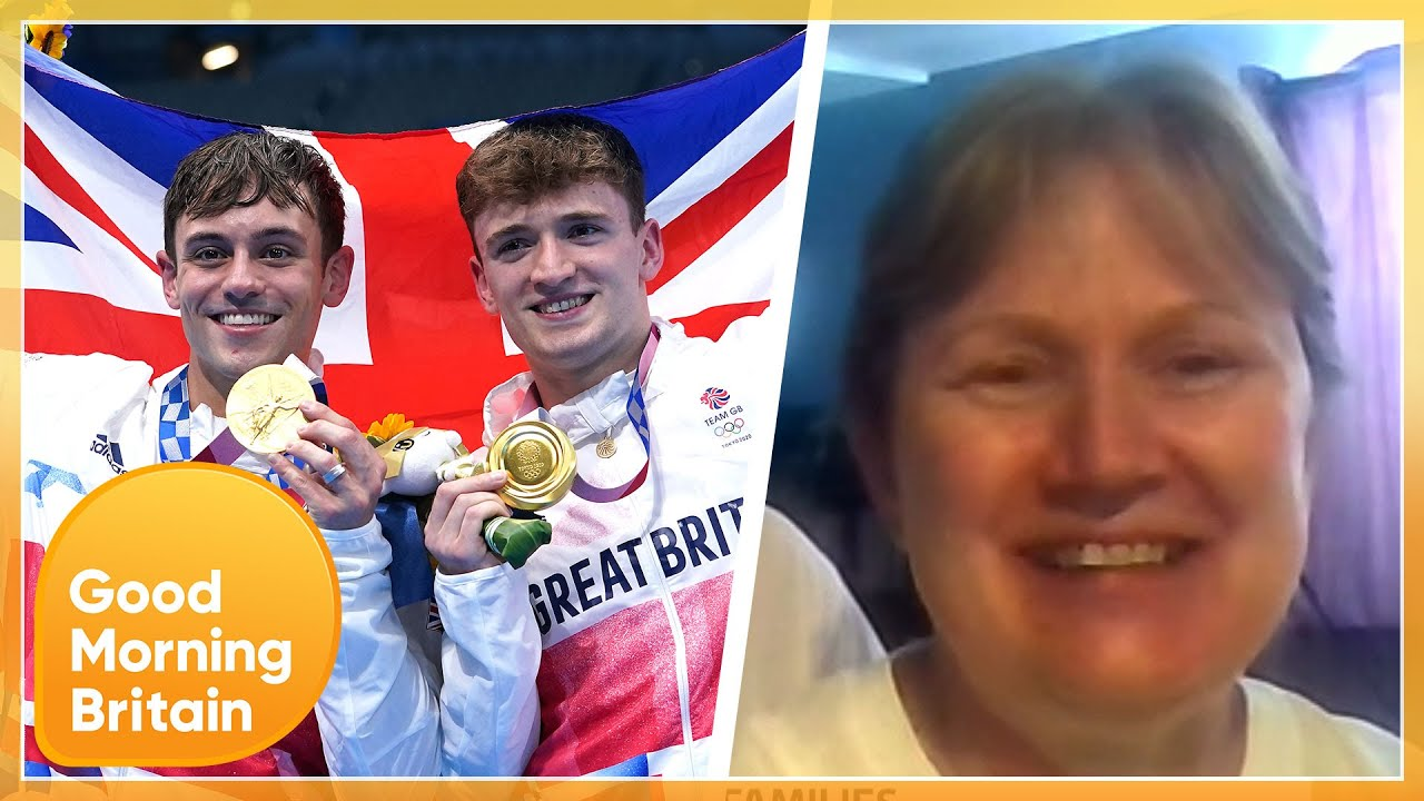 Matty Lee's Parents Reveal 'Very Emotional' Moment Their Son & Tom Daley Won Olympic Gold   GMB