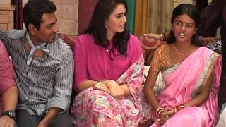 The Cast Of Gangs Of Wasseypur 2 Visit Sets Of Afsar Bitiya - Latest Movie Promotion