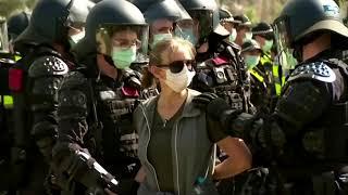 Australian anti-lockdown protesters clash with police