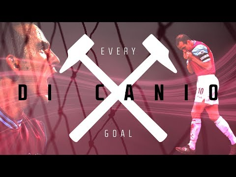EVERY PAOLO DI CANIO GOAL FOR WEST HAM