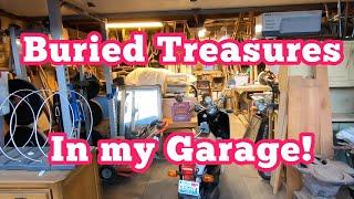 Buried Treasures in my Garage!