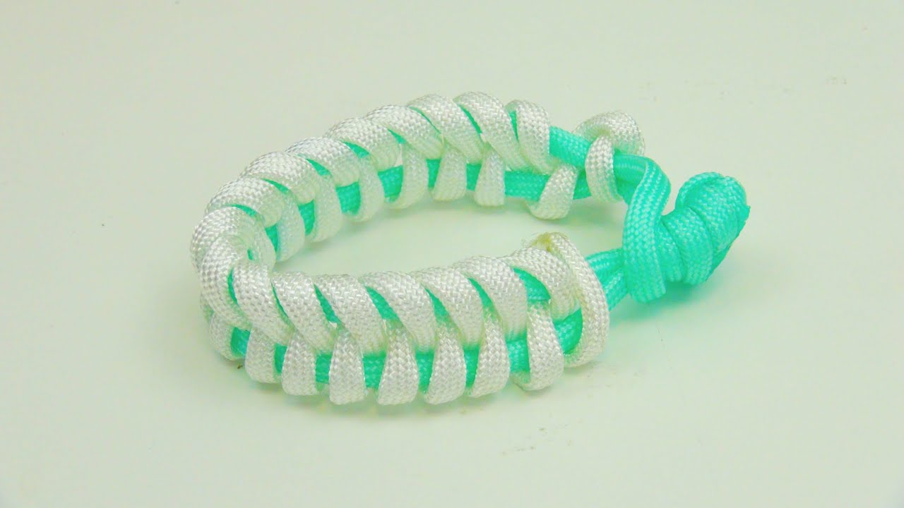 how to make a paracord bracelet without melting