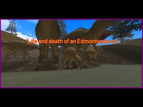 Roblox|Era of Terror| Life and Death of an Edmontosaurus|