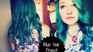 Blue Hair Project | Dani Miller Thumbnail