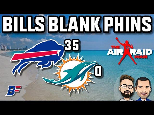 Buffalo Bills Squish The Miami Dolphins | Air Raid Hour MMQB