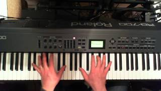 Tutorial Piano Bee Gees How deep is your love.wmv