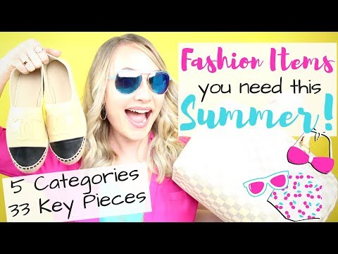 Hottest Summer Fashion Trends for 2018 + 33 Items You Need | AmandaRaeRevue