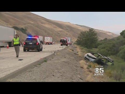 Bay Area Mothers, Children Killed In 'Horrific' Minivan Wreck In SoCal