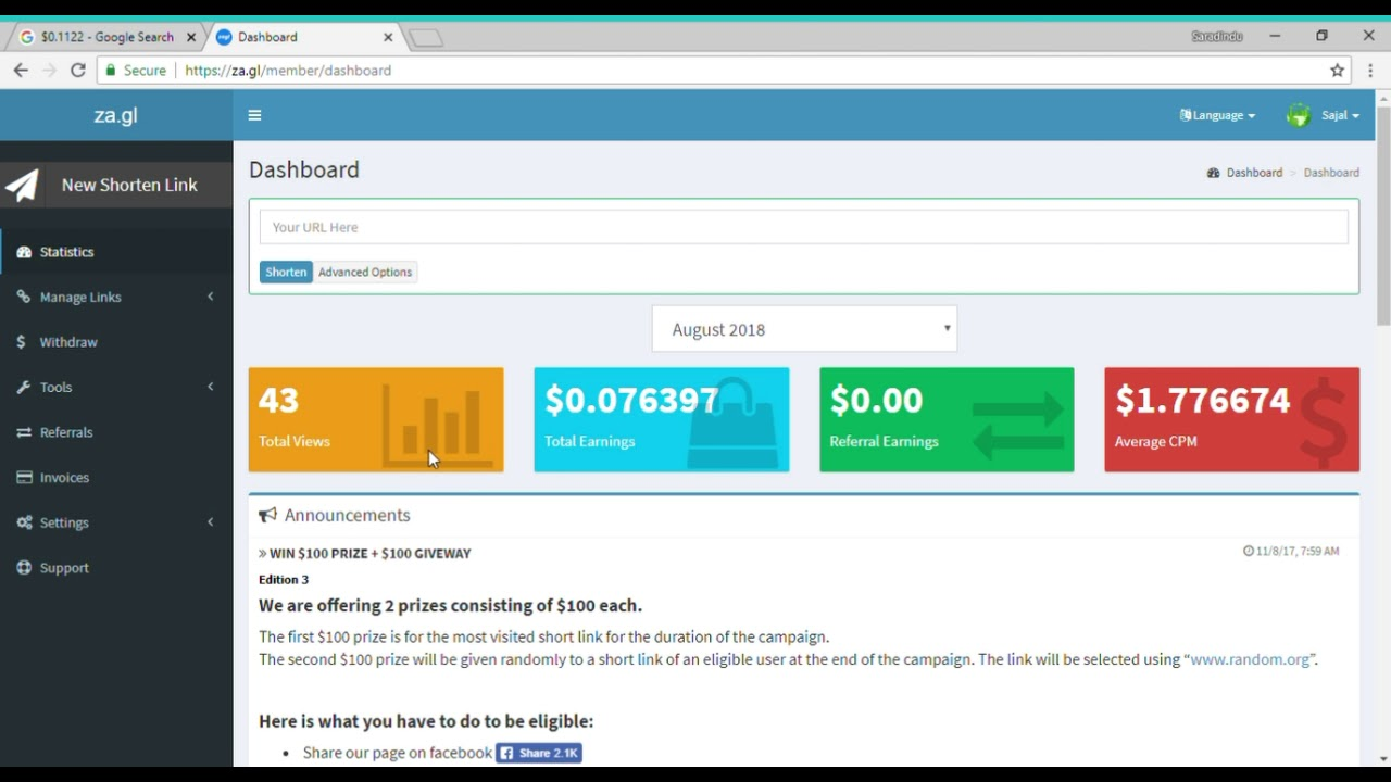 How to earn 5$ daily    za gl unlimited trick    hack    Group earning