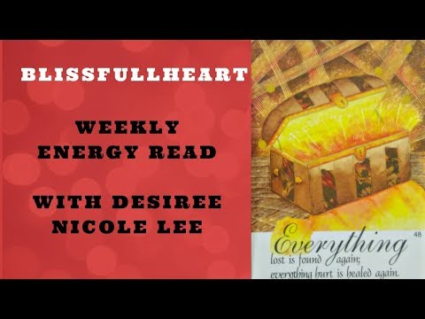 Energy Read Feb 28th ~ Mar 6th ~ Full MOON, Treasure Chest of Possibilities, Passion