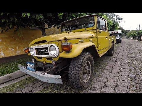 Finding a 1978 Land Cruiser | Exploring Juayua, El Salvador