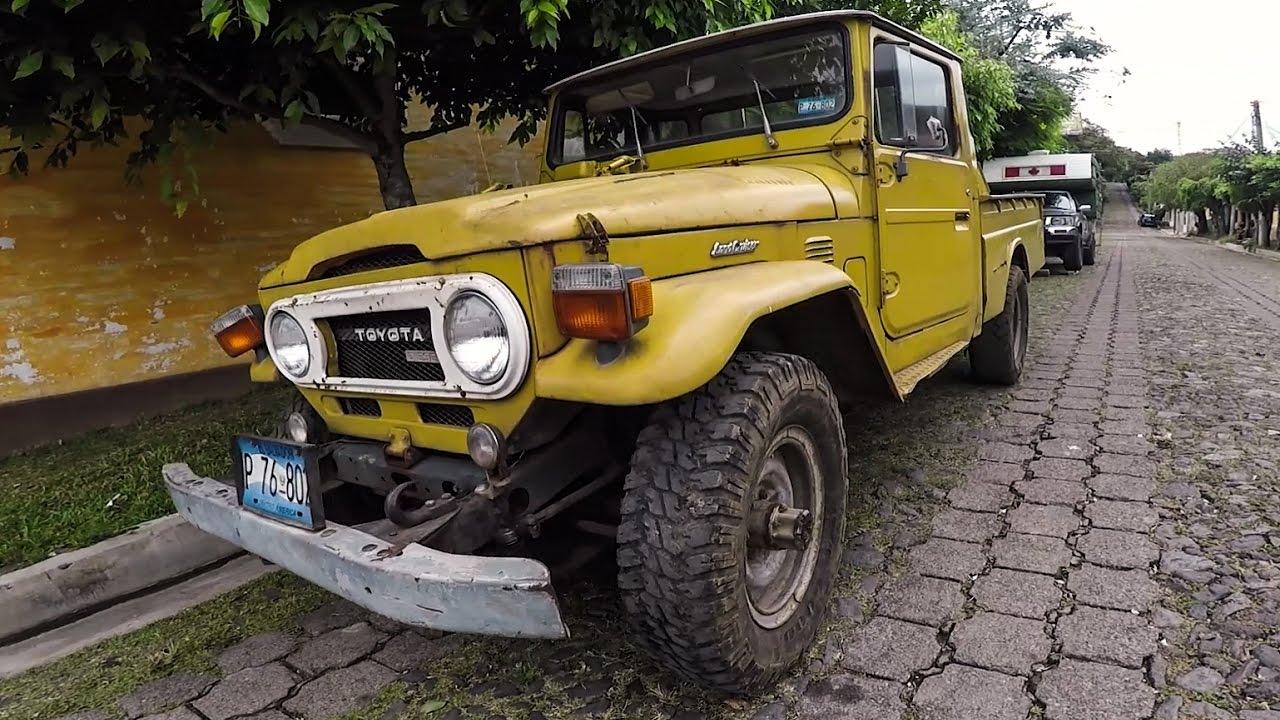 Finding A 1978 Land Cruiser Exploring Juayua El Salvador Youtube