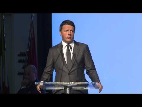 Intervento di Renzi all'evento Masterplan per l 'Abruzzo (10