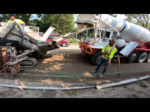 M 1000 Curb Machine Heavy Duty Modular Concrete Slipform Paver - Whitmer Fixing The Damn Roads