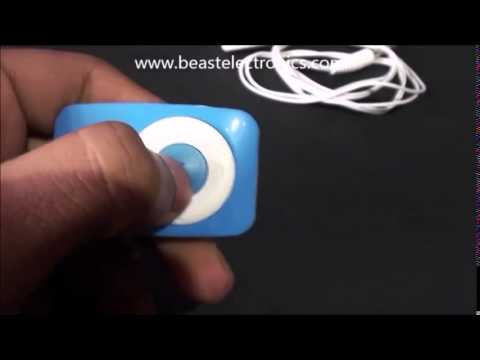 Mp3 Music Player blue color only $5 00 Free Shipping