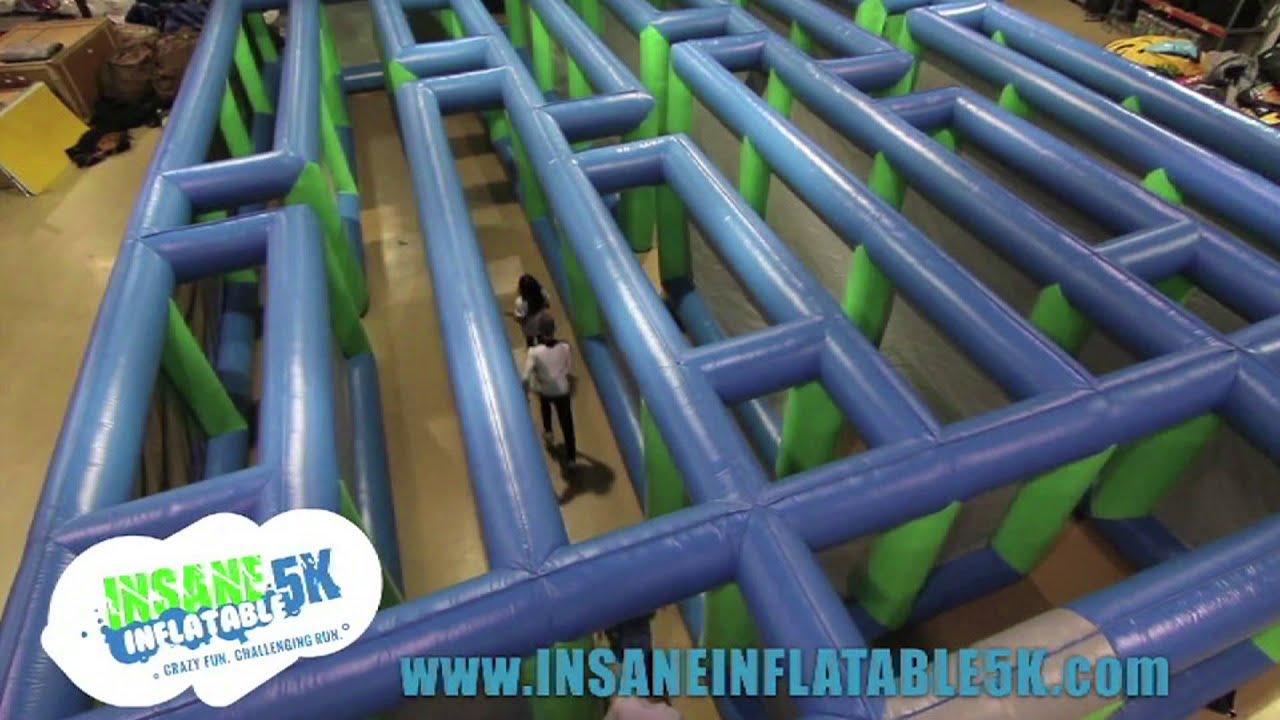 Crazy Inflatable Run 5k