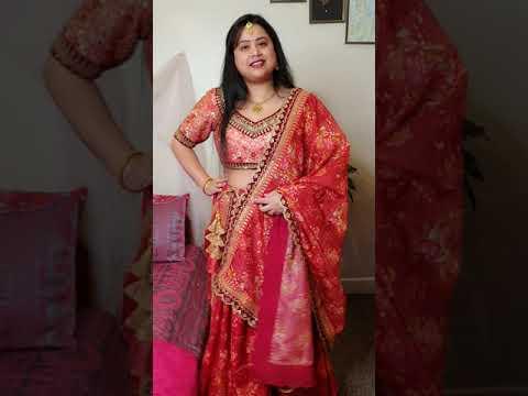 Lehnga Look   Indian Bridal Look