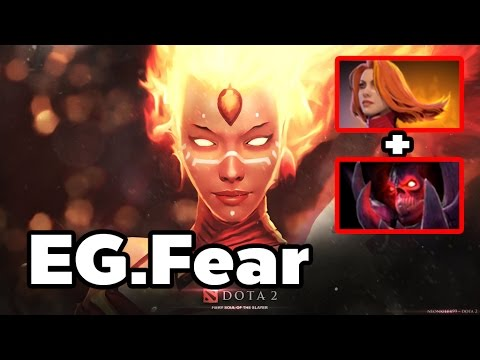 Lina + Shadow Demon Combo By EG.Fear Summit 3