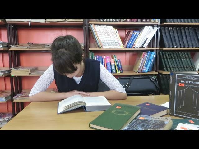 Изображение предпросмотра прочтения – АнастасияЛевина читает произведение «Собака» И.С.Тургенева