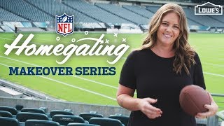 NEW SERIES /// NFL Homegating Makeovers