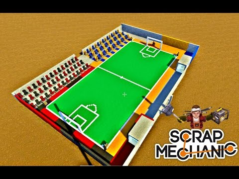 Scrap Mechanic SHQIP - Football 1vs1 me Endritin - SHQIPGaming