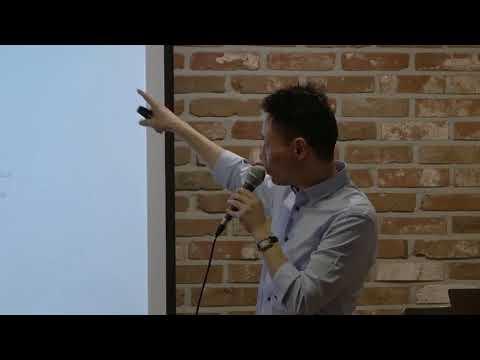 "Li Jun, Founder of Ontology, Sharing ""Ontology Tech Vision"" at Hashed Lounge on April 29, 2018"