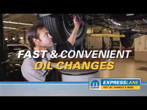 Mopar Express Lane Service North York Chrysler