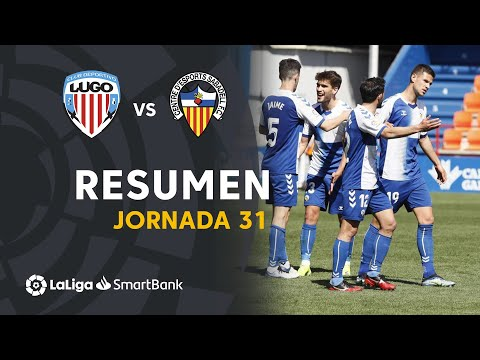 Lugo Sabadell CE Goals And Highlights