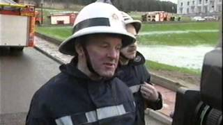 Stormont Fire 2 Jan 1995 UTV news (Parliament Buildings)