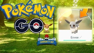 POKEMON GO Eevee Community Day INFO YOU NEED TO KNOW